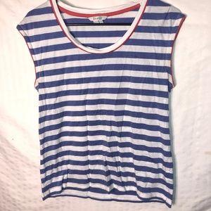 Boden Summer Breeze Tee Shirt Women's US Size 8 -